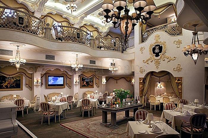 дизайн ресторана барокко