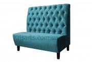 диван для кафе с пуговицами