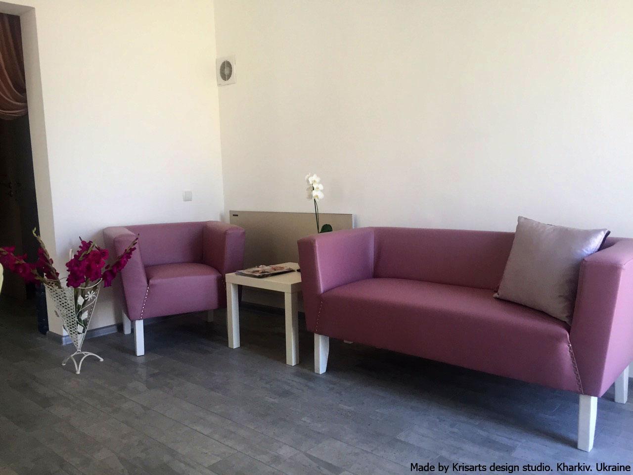 диван в кофейню