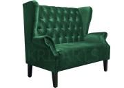 Классический двухместный диван для ресторана