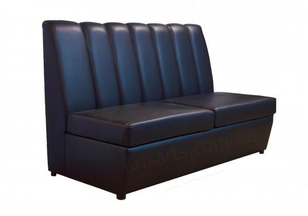 полосатый диван для кафе